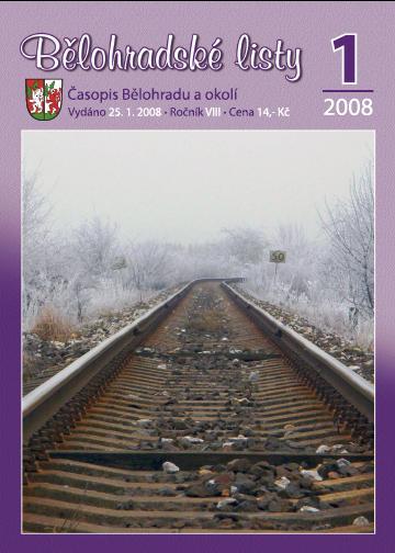 Bělohradské listy 1/2008