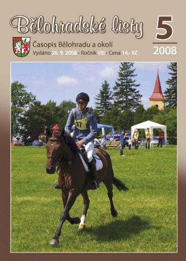 Bělohradské listy 5/2008