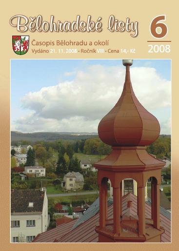 Bělohradské listy 6/2008