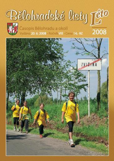 Bělohradské listy Léto/2008